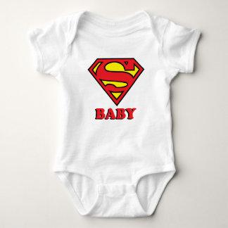 Body Para Bebê Bodysuit super do jérsei do bebê do casal da