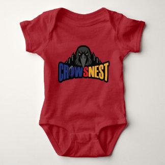 Body Para Bebê Bodysuit vermelho do bebê