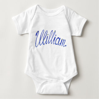 Body Para Bebê Bodysuit William do jérsei do bebê