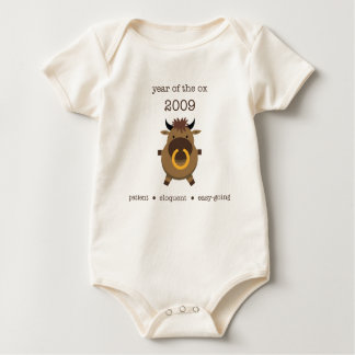 Body Para Bebê Boi 2