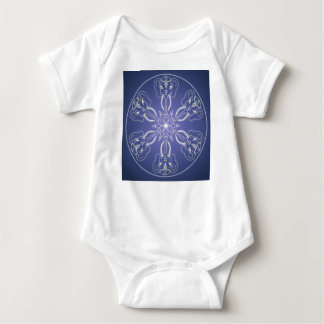 Body Para Bebê Bola de cristal do elefante da mandala do gótico