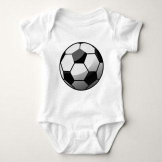 Body Para Bebê Bola de futebol