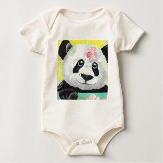 Body Para Bebê Bolhas da panda
