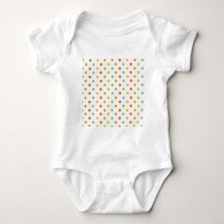 Body Para Bebê Bolinhas Pastel