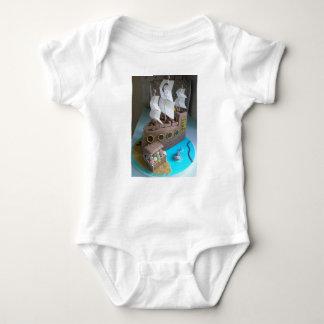 Body Para Bebê Bolo 1 do navio