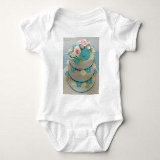 Body Para Bebê Bolo de aniversário 1