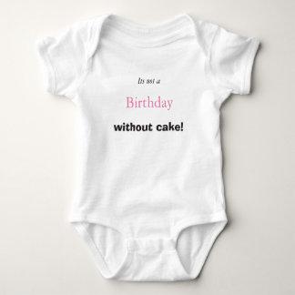 Body Para Bebê Bolo de aniversário do bebê