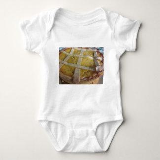 Body Para Bebê Bolo italiano tradicional Pastiera Napoletana