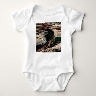 Body Para Bebê Bolsos da erosão no deserto
