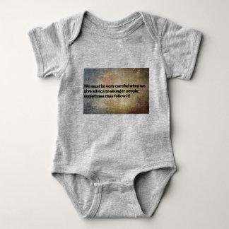 Body Para Bebê Bom conselho Babywear