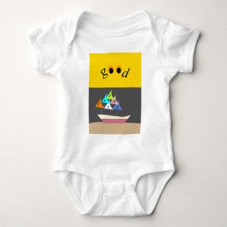 Body Para Bebê bom navio do amigo
