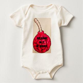 Body Para Bebê Bombas dos cérebros não
