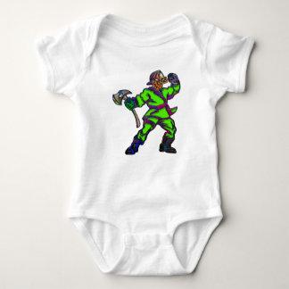 Body Para Bebê Bombeiros abstratos