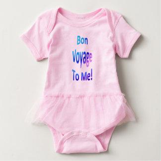 Body Para Bebê Bon voyage a mim Pastels