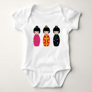 Body Para Bebê Bonecas - Bodysuit do bebê