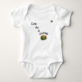 """Body Para Bebê """"Bonito como Bodysuit do bebê de um Guinep"""""""