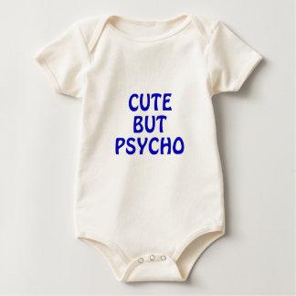 Body Para Bebê Bonito mas psicótico