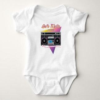 Body Para Bebê boombox do dinamitador do gueto dos anos 80