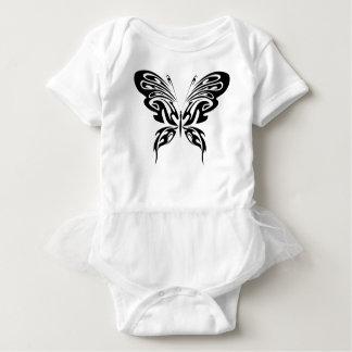 Body Para Bebê Borboleta abstrata