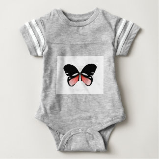 Body Para Bebê borboleta do vermelho do figo 5 por fernandes tony