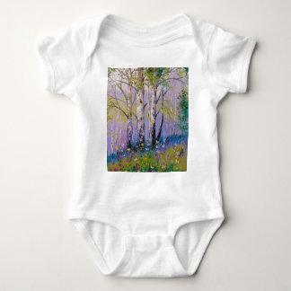 Body Para Bebê Bosque do vidoeiro