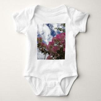 Body Para Bebê Bougainvillea cor-de-rosa