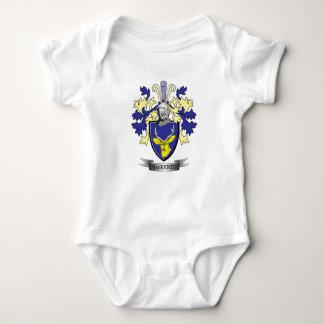 Body Para Bebê Brasão da crista da família de MacKenzie