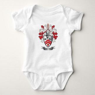 Body Para Bebê Brasão da crista da família de Oliver