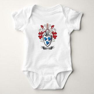 Body Para Bebê Brasão da crista da família do porteiro