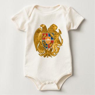 Body Para Bebê Brasão de Arménia - emblema arménio