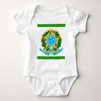 Body Para Bebê Brasão de Brasil