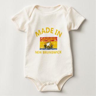 Body Para Bebê Brasão de Novo Brunswick
