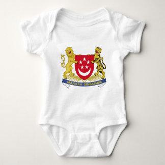 Body Para Bebê Brasão do emblema do 新加坡国徽 de Singapore