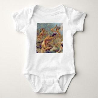 Body Para Bebê braves na batalha