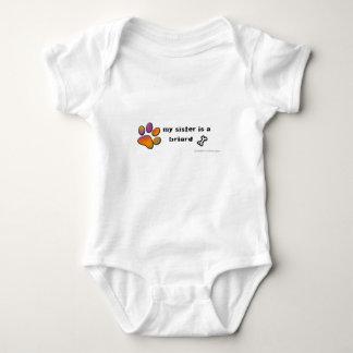 Body Para Bebê briard