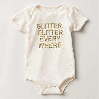 Body Para Bebê Brilho do brilho cada onde