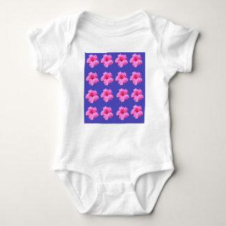 Body Para Bebê Brisa do verão do hibiscus, _