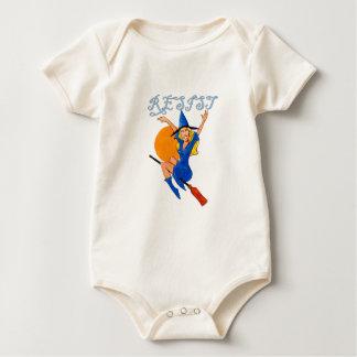 Body Para Bebê Bruxa da resistência