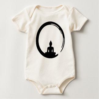 Body Para Bebê Buda silent