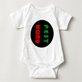 Body Para Bebê Budapest minimalist - circle - 01