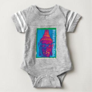 Body Para Bebê Buddha quebrado