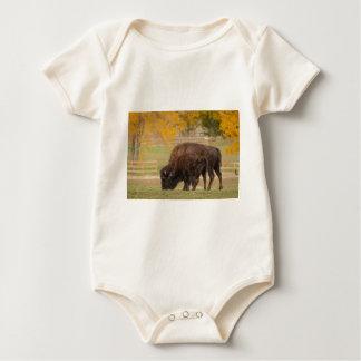 Body Para Bebê Búfalos vaca e vitela de AAutumn