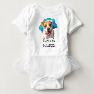 Body Para Bebê buldogue americano