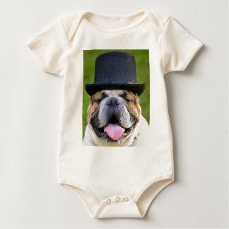 Body Para Bebê Buldogue customizável