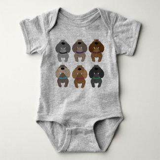 Body Para Bebê Buldogues