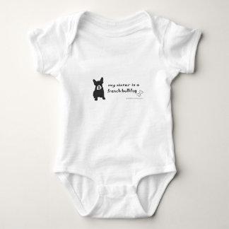 Body Para Bebê bullodg francês - mais produz