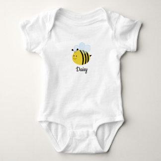 Body Para Bebê Bumble a abelha personalizada