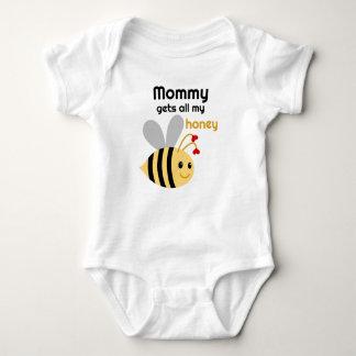 Body Para Bebê Bumble o dia dos namorados da abelha