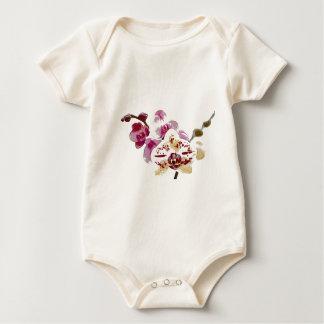 Body Para Bebê Buquê da flor da orquídea do Phalaenopsis