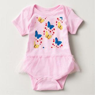Body Para Bebê Butterfly espécie Love